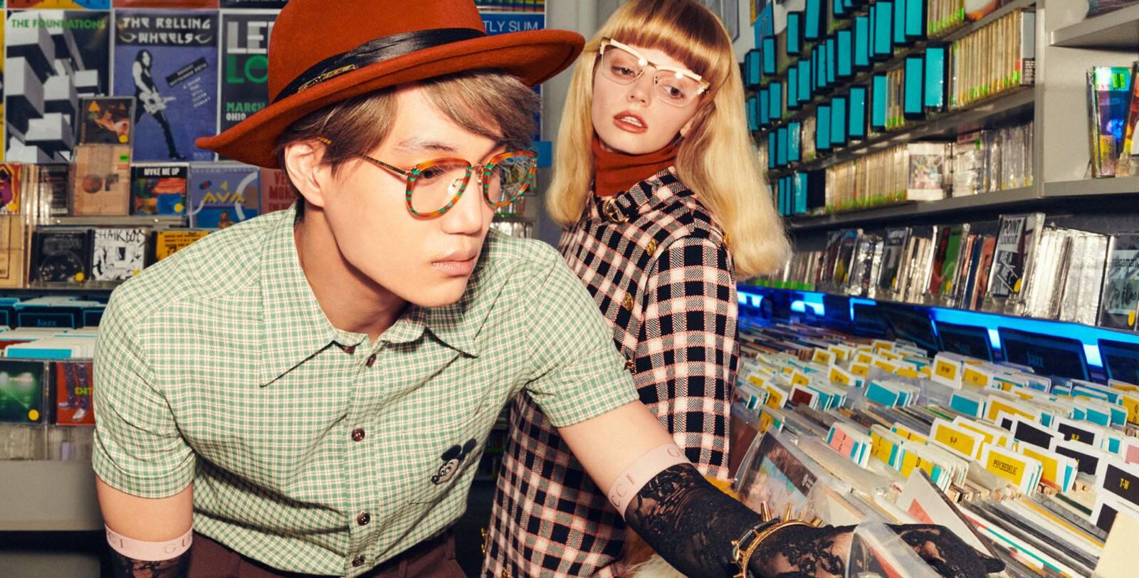 Thương hiệu kính mắt thời trang Gucci - Ảnh 2