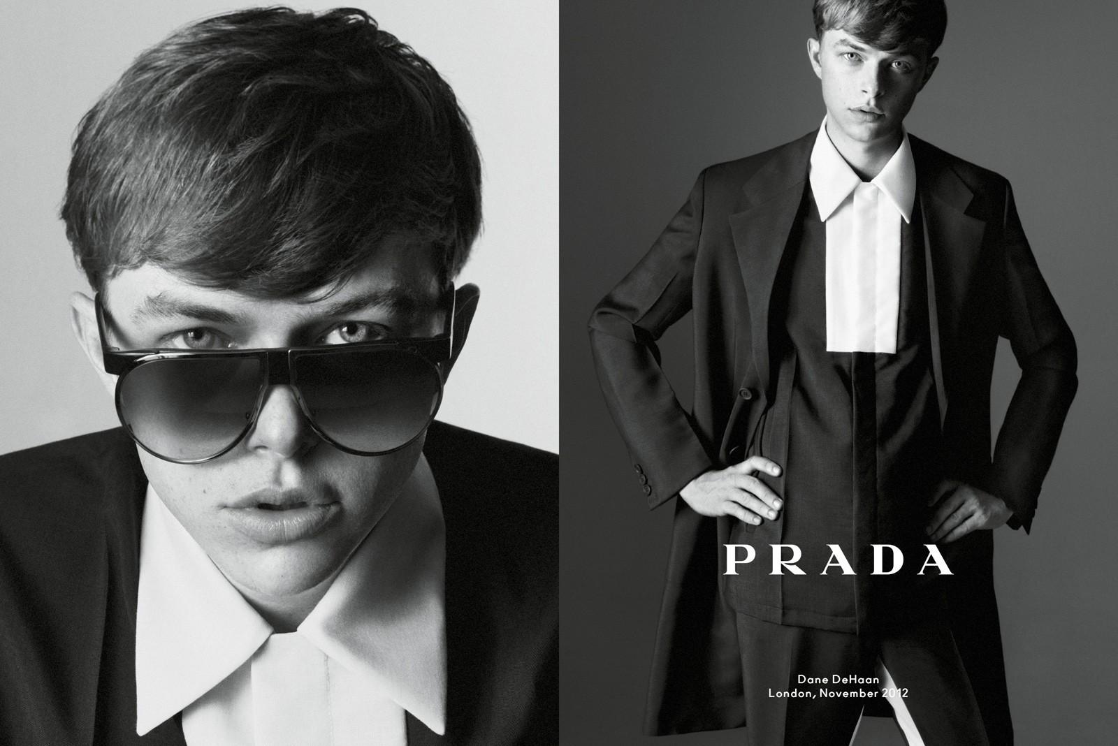 Kính mắt thời trang nam Prada - Ảnh 7