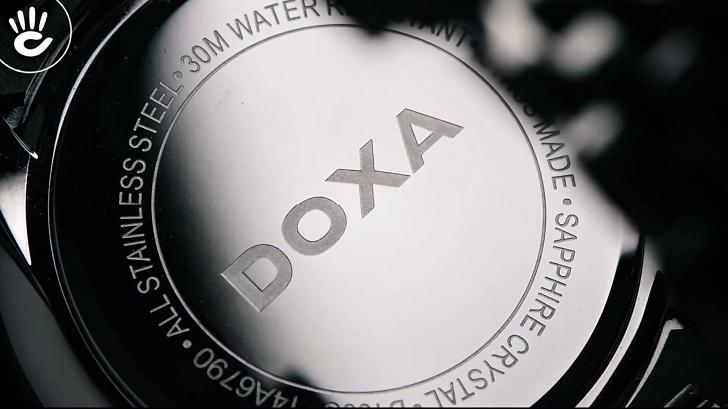 Đánh giá đồng hồ nam Doxa D155SWH kính sapphire, máy Thụy Sỹ - Ảnh 5