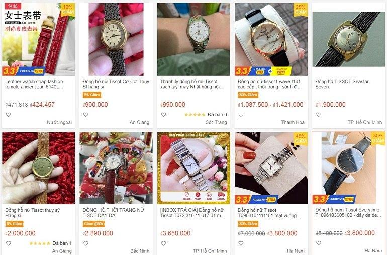 """Cảnh báo đồng hồ Tissot 1853 Trung Quốc, hàng """"pha ke"""" 100% - Ảnh: 8"""