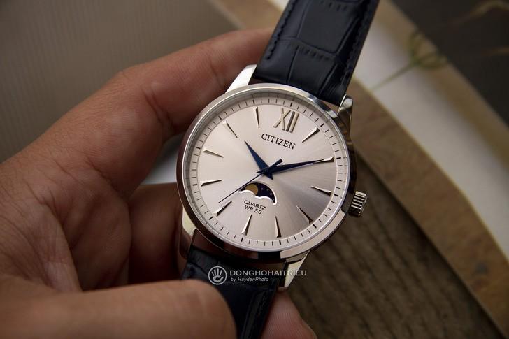 Đồng hồ Citizen AK5000-03A: Ấn tượng với ô lịch trăng sao - Ảnh 2