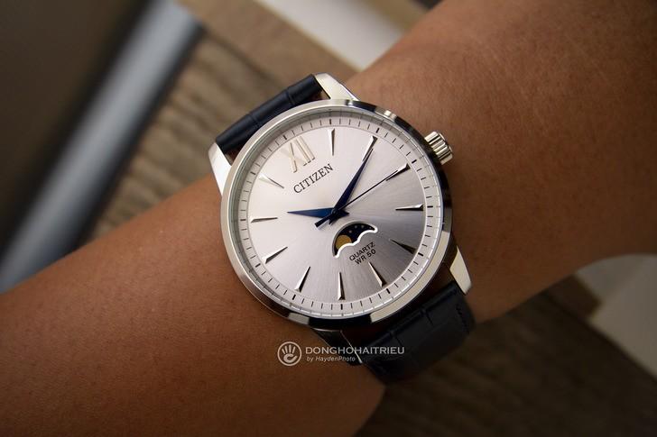 Đồng hồ Citizen AK5000-03A: Ấn tượng với ô lịch trăng sao - Ảnh 3