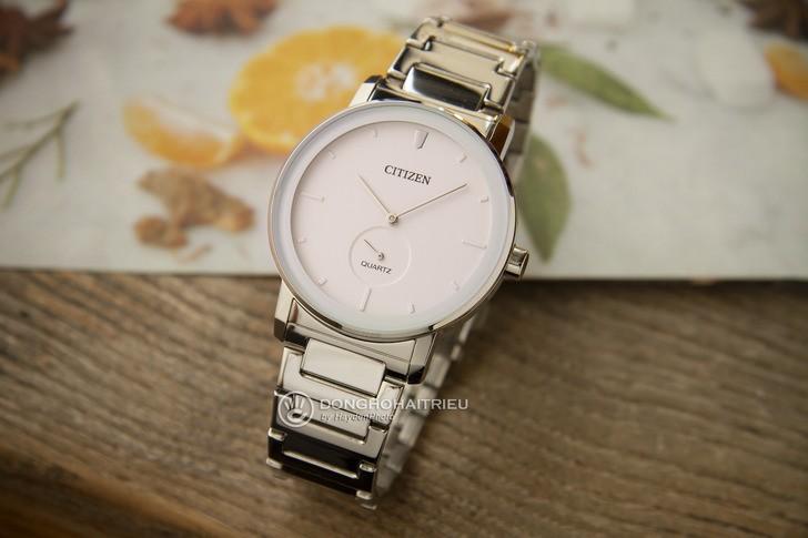 Đồng hồ Citizen BE9180-52A: Vẻ đẹp từ màu trắng trang nhã - Ảnh 1