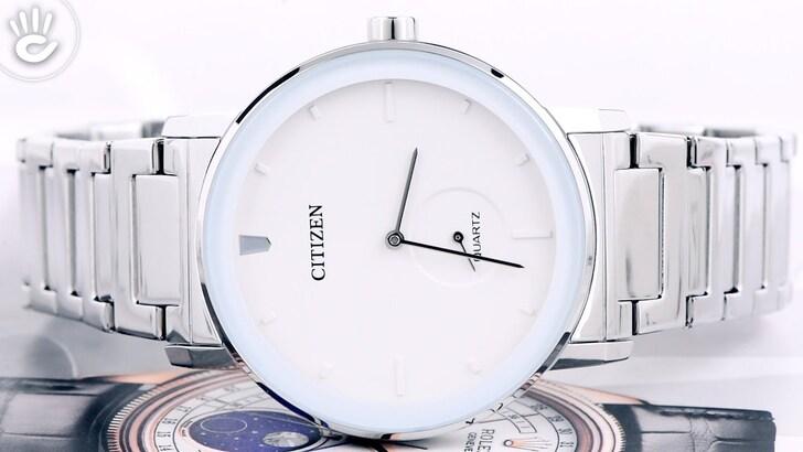 Đồng hồ Citizen BE9180-52A: Vẻ đẹp từ màu trắng trang nhã - Ảnh 2
