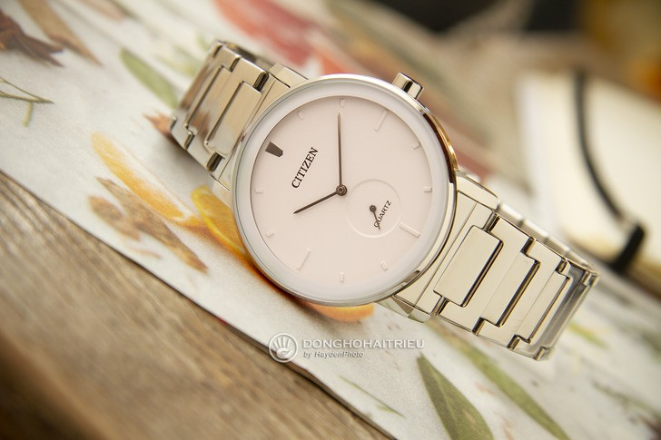Đồng hồ Citizen BE9180-52A: Vẻ đẹp từ màu trắng trang nhã - Ảnh 3