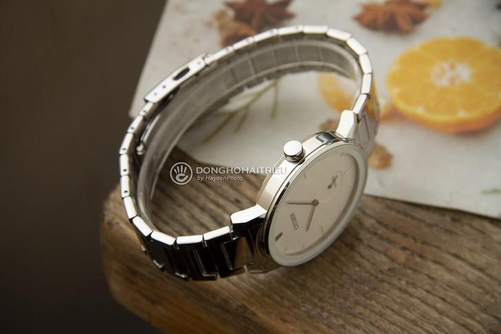 Đồng hồ Citizen BE9180-52A: Vẻ đẹp từ màu trắng trang nhã - Ảnh 5