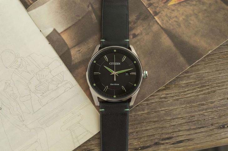 Đồng hồ Citizen BM6981-13E năng lượng ánh sáng độc quyền - Ảnh 1