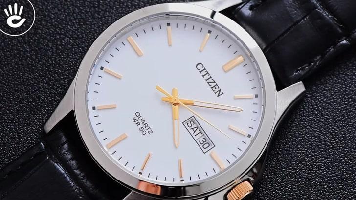 Đồng hồ Citizen EQ0599-11A 100% máy Nhật, siêu mỏng 7mm - Ảnh 3