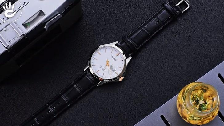 Đồng hồ Citizen EQ0599-11A 100% máy Nhật, siêu mỏng 7mm - Ảnh 8