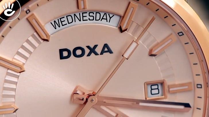 Đồng hồ Doxa D188RIY, máy cơ Thụy Sỹ, chống nước 10ATM - Ảnh: 3