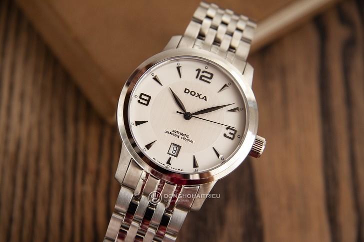 Đồng hồ nam Doxa D147SWHW: Mạnh mẽ, góc cạnh, sang trọng - Ảnh: 1