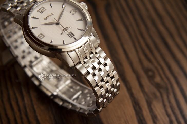 Đồng hồ nam Doxa D147SWHW: Mạnh mẽ, góc cạnh, sang trọng - Ảnh: 2