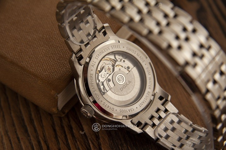 Đồng hồ nam Doxa D147SWHW: Mạnh mẽ, góc cạnh, sang trọng - Ảnh: 5