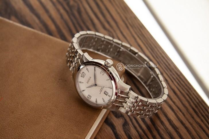 Đồng hồ nam Doxa D147SWHW: Mạnh mẽ, góc cạnh, sang trọng - Ảnh: 3