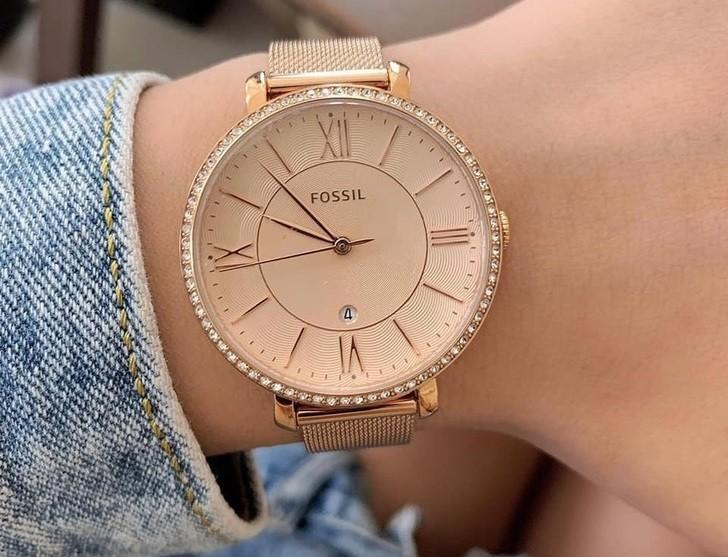 Đồng hồ Fossil ES4628 giá rẻ, thay pin miễn phí trọn đời - Ảnh 2