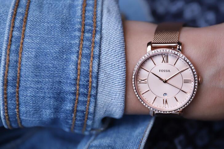 Đồng hồ Fossil ES4628 giá rẻ, thay pin miễn phí trọn đời - Ảnh 5