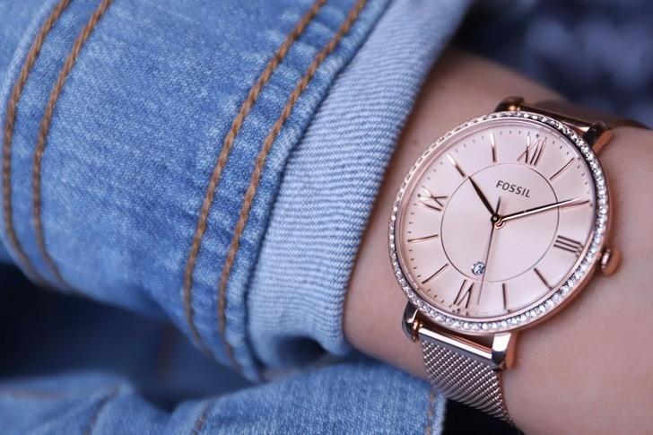 Đồng hồ Fossil ES4628 giá rẻ, thay pin miễn phí trọn đời - Ảnh 6