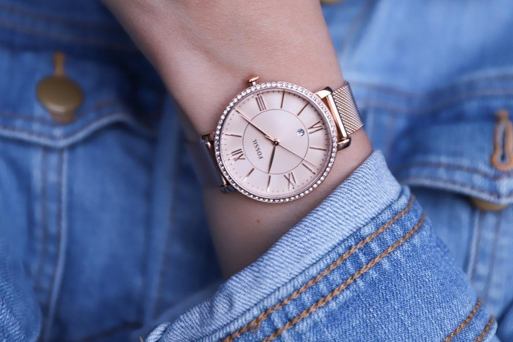 Đồng hồ Fossil ES4628 giá rẻ, thay pin miễn phí trọn đời - Ảnh 7