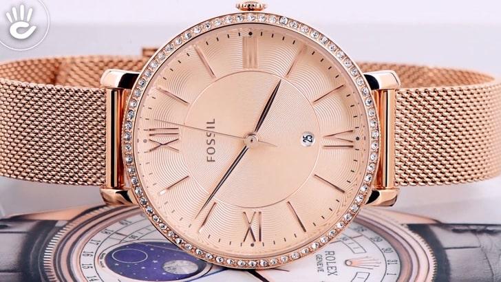 Đồng hồ Fossil ES4628 giá rẻ, thay pin miễn phí trọn đời - Ảnh 8