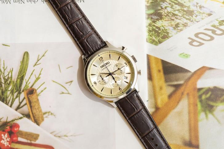 Đồng hồ Seiko SSB341P1 máy Nhật, được miễn phí thay pin - Ảnh 1