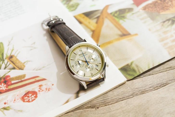 Đồng hồ Seiko SSB341P1 máy Nhật, được miễn phí thay pin - Ảnh 2