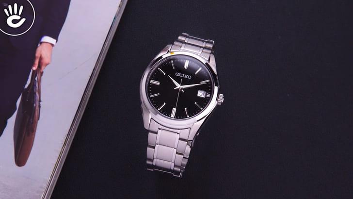 Đồng hồ Seiko SUR311P1 máy Nhật cùng mặt kính Sapphire - Ảnh 8