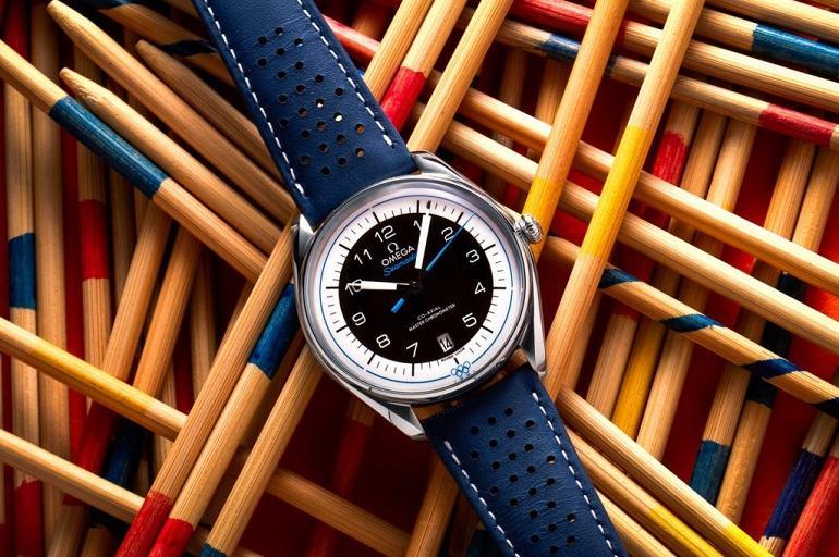 Đồng hồ Seamaster Olympic Game có 5 màu tượng trưng 5 châu lục - Ảnh 23