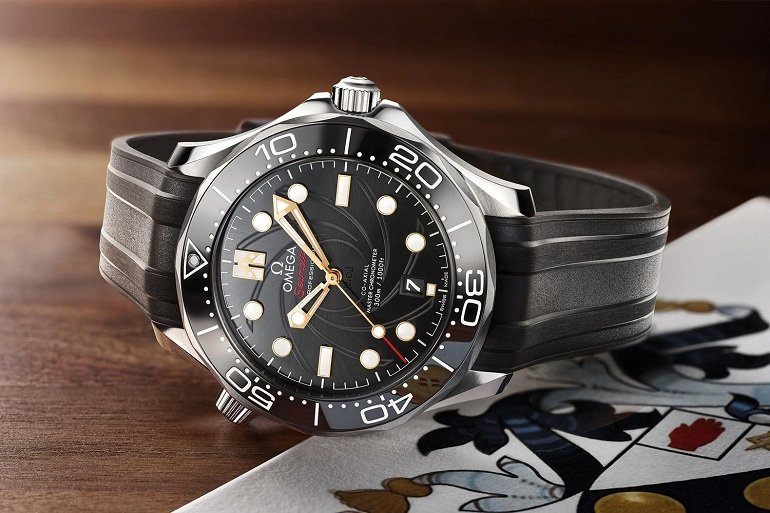 "Omega Seamaster Diver 300m ""James Bond"" - Ảnh 6"