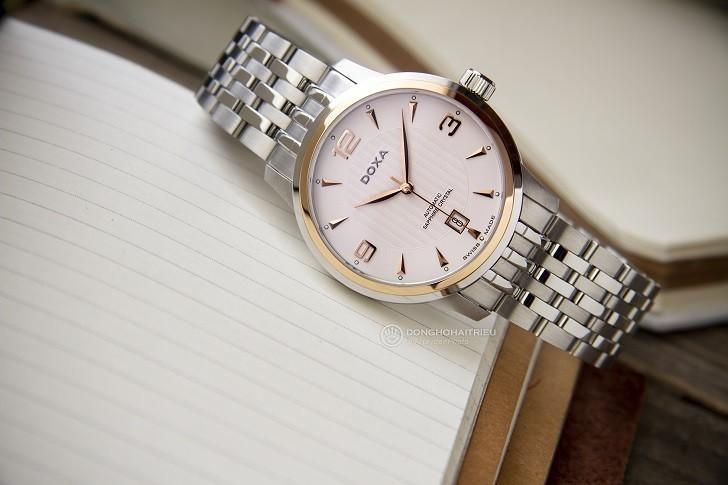 Đánh giá đồng hồ Doxa D147RWH toàn tập từ trong ra ngoài - Ảnh 2