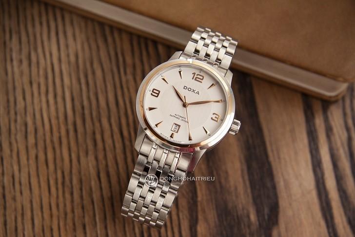 Đánh giá đồng hồ Doxa D147RWH toàn tập từ trong ra ngoài - Ảnh 4