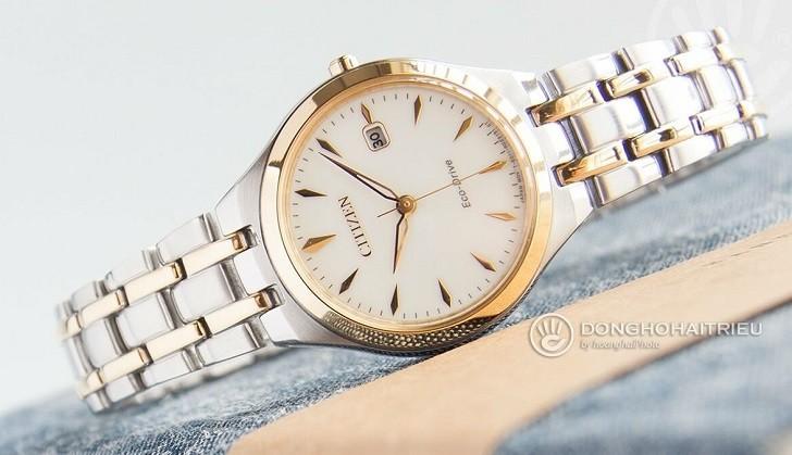 Đồng hồ Citizen EW2484-82B Công nghệ Eco-Drive độc quyền - Ảnh 1