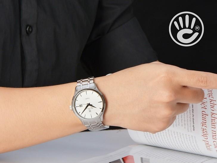 Đồng hồ OP 5695MS-T giá rẻ và thay pin miễn phí trọn đời - Ảnh 5