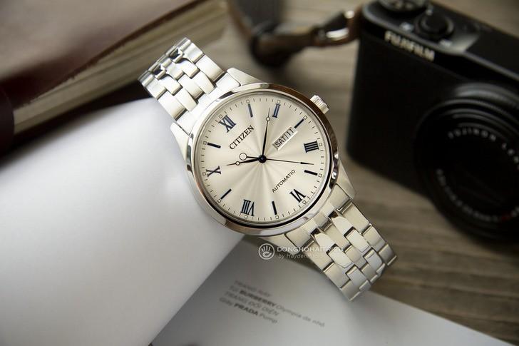 Đồng hồ Citizen NH7501-85A: Đẳng cấp với vẻ đẹp hoàn hảo - Ảnh 3