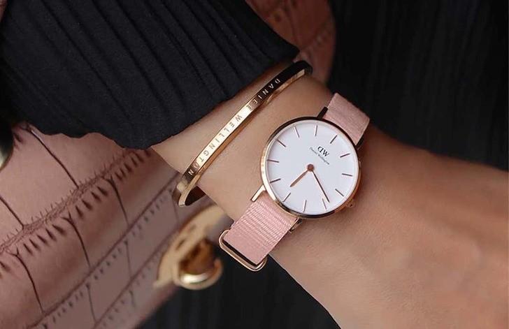 Đồng hồ Daniel Wellington DW00100319 siêu mỏng chỉ 6mm - Ảnh 3