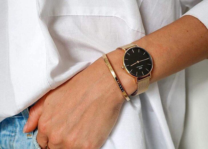 Đồng hồ Daniel Wellington DW00100347 giá rẻ, siêu mỏng 6mm - Ảnh 3