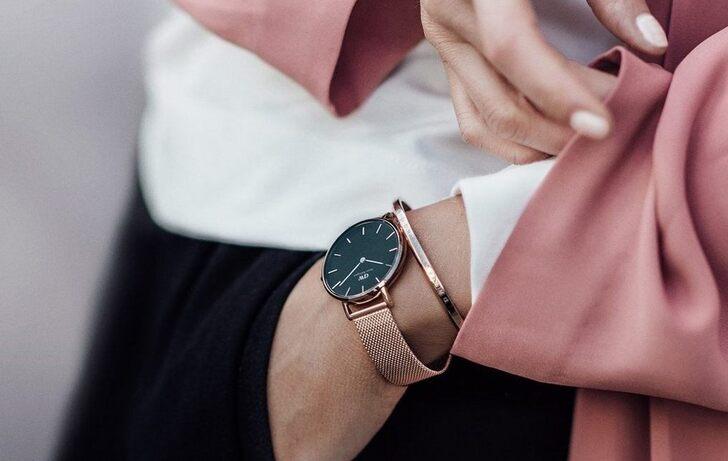 Đồng hồ Daniel Wellington DW00100347 giá rẻ, siêu mỏng 6mm - Ảnh 5