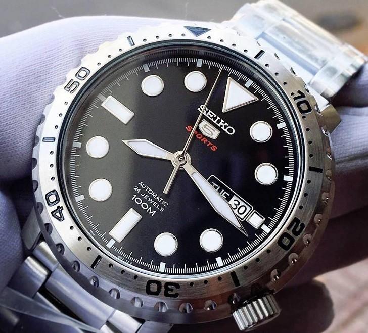 Đồng hồ Seiko SRPC61K1 Automatic, trữ cót lên đến 40 giờ - Ảnh 2