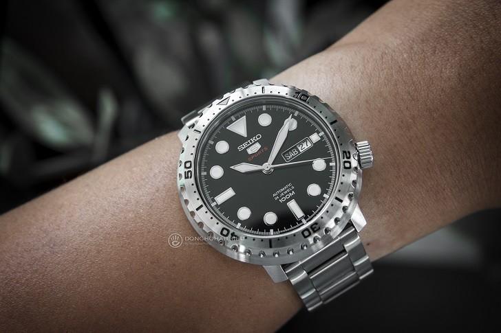 Đồng hồ Seiko SRPC61K1 Automatic, trữ cót lên đến 40 giờ - Ảnh 3