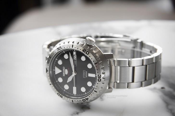 Đồng hồ Seiko SRPC61K1 Automatic, trữ cót lên đến 40 giờ - Ảnh 5