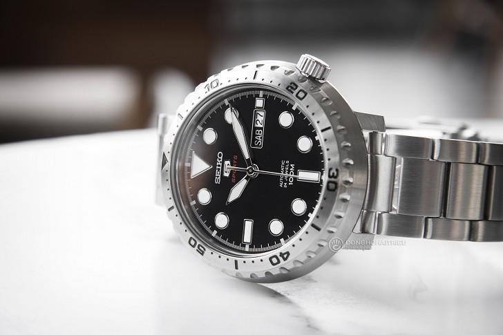Đồng hồ Seiko SRPC61K1 Automatic, trữ cót lên đến 40 giờ - Ảnh 6