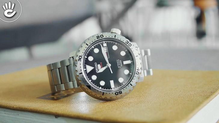 Đồng hồ Seiko SRPC61K1 Automatic, trữ cót lên đến 40 giờ - Ảnh 7