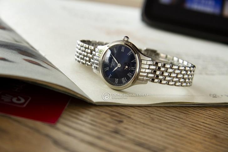 Đồng hồ Tissot T103.110.11.043.00: Kính Sapphire bền bỉ - Ảnh 1