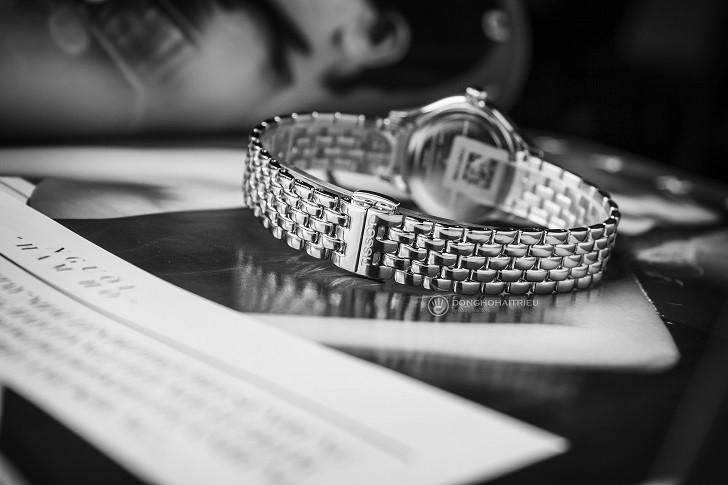 Đồng hồ Tissot T103.110.11.043.00: Kính Sapphire bền bỉ - Ảnh 4