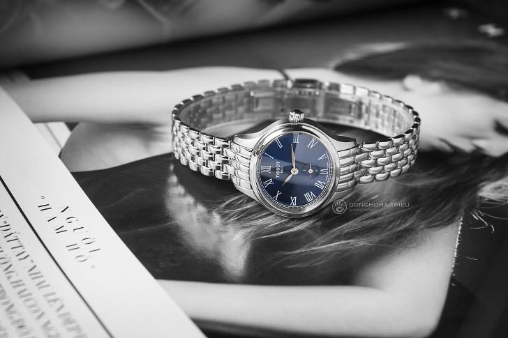 Đồng hồ Tissot T103.110.11.043.00: Kính Sapphire bền bỉ - Ảnh 8