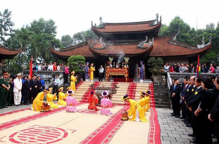 giỗ tổ Hùng Vương được tổ chức ở đâu - Ảnh: 6