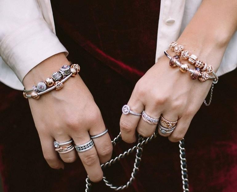 Nhẫn Pandora bằng vàng mang lại sự quý phái cho cô nàng - Ảnh 1