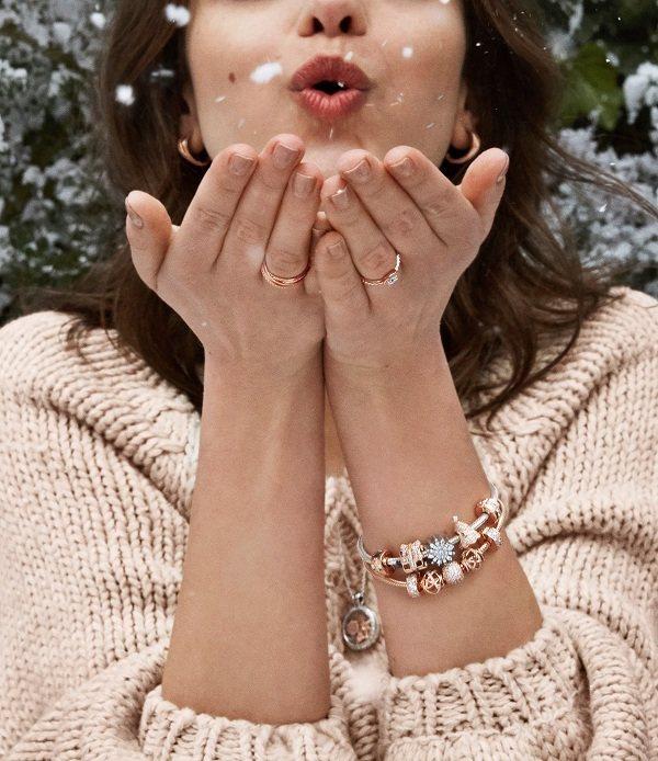Nhẫn Pandora vàng hồng được đánh giá cao về độ thẩm mỹ - Ảnh 3