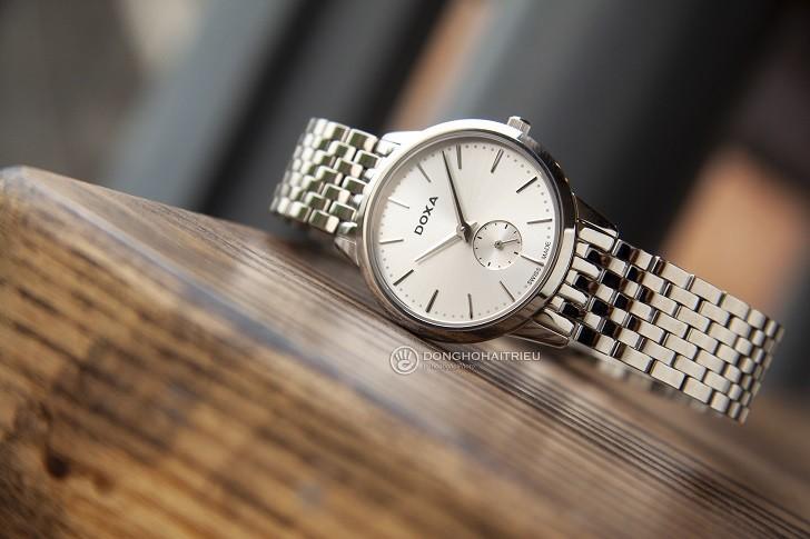 Đồng hồ nữ Thụy Sỹ Doxa D156SWH và 5 điểm cộng khó cưỡng - Ảnh 1