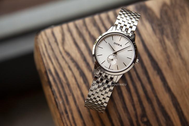 Đồng hồ nữ Thụy Sỹ Doxa D156SWH và 5 điểm cộng khó cưỡng - Ảnh 2