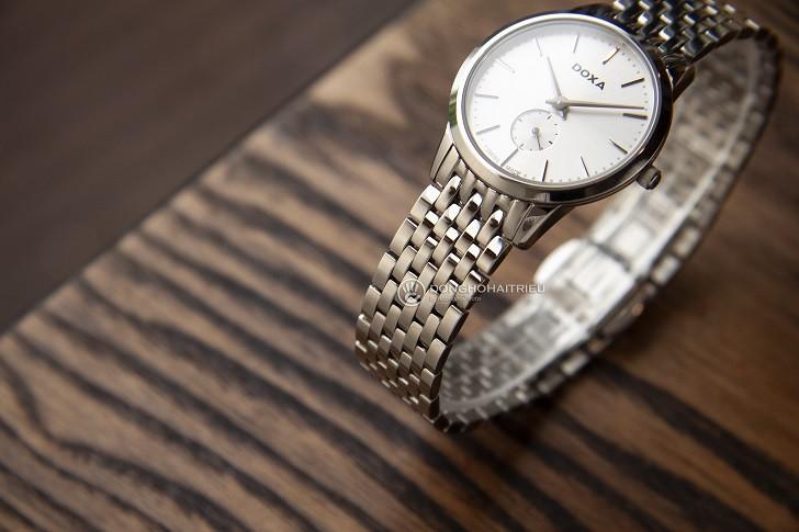Đồng hồ nữ Thụy Sỹ Doxa D156SWH và 5 điểm cộng khó cưỡng - Ảnh 4